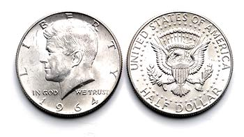 Penny Nickel Dime Quarter Dollar