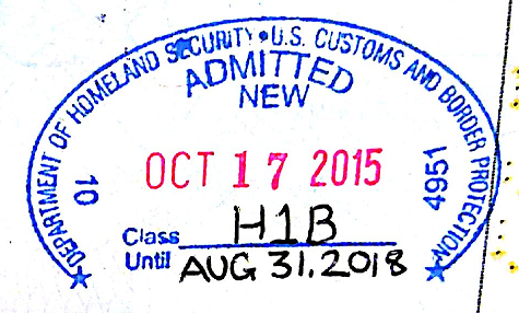 Form I-94 – Arrival / Departure Record for USA