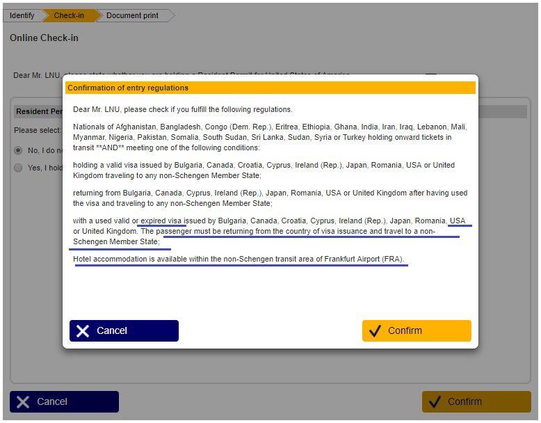 Usa Visa Frankfurt