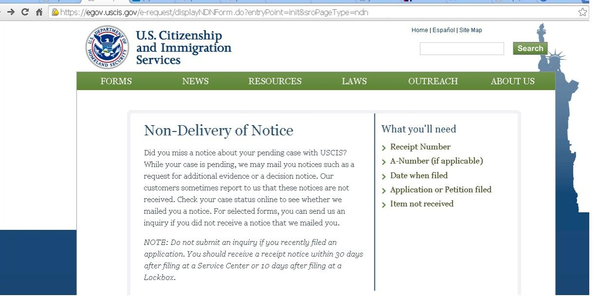 Trick To Get Duplicate I 797 Submitting Uscis Form For Non